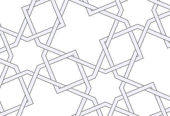 how to draw islamic geometric designs
