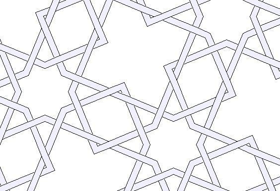 how to draw islamic geometric designs