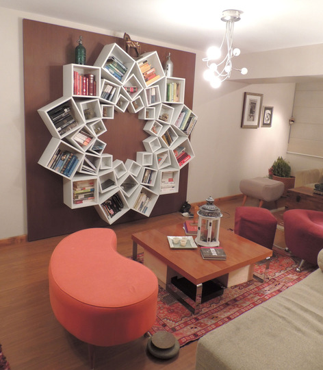 The first articles takes a peek into the apartment of a Venezuelan lawyer  and focuses on her custom made Mandala bookcase  The Mandala design looks   and. Internet Finds   More Islamic Art Influenced Interior Design