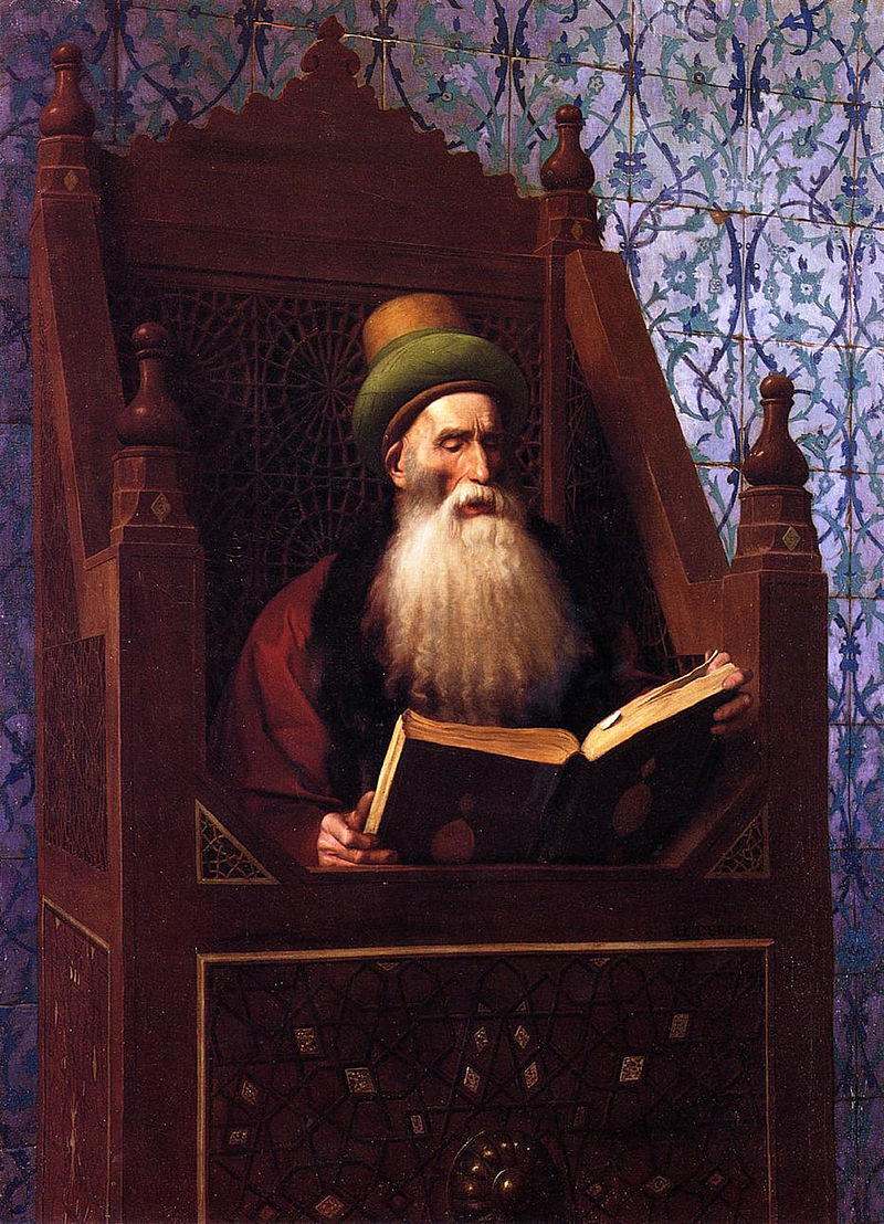 800px-gc3a9rc3b4me_-_mufti_reading_in_his_prayer_stool